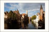 Bruges au soleilQuai Rozenhoed