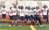 Rebels varsity wins fifth consecutive game 33-06