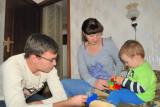 Aleksandr, Olga and Maxim