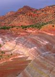 Banded Chinle Formation, Arizona Strip, AZ