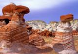 Blue Canyon Hoodoos, AZ