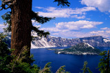 Wizard Island and Llao Rock, Crater Lake National Park, OR
