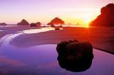 Bandon Beach sunset, Bandon, OR