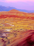 Painted Hills section of John Day Fossil Beds, OR