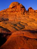 South Coyote Buttes sunset, Paria Canyon-Vermilion Cliffs Wilderness, AZ