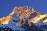 Fold in Canadian Rockies near Canmore, Alberta, Canada