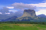 (SG24) Chief Mountain a klippe outlier of the Lewis Overthrust, Glacier National Park, MT
