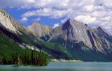 (SG35) Steeply dipping rocks of the Queen Elizabeth Range, Jasper National Park, Alberta, Canada
