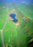 (SG45) Sag pond along the San Andreas Fault, Carizzo Plain, CA