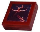 Ceramic Tile & Wood Keepsake Boxes $45 to $65
