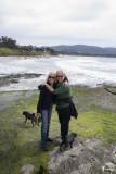 Future Grandma visits us on the Monterey Peninsula