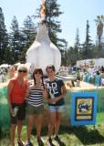 Garlic Ice Cream...America visits The Gilroy Garlic Festival