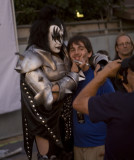 Gene Simmons and fan