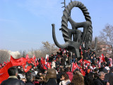 Pictures taken during the Secularist Rally in Ankara - Feb. 9, 2008