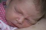 asleep on mummy