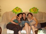 mom with friends