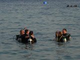 My first diving in the sea!