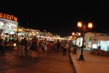 Every night after the dinner we went out to the souk