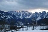 Sunset in Dachstein