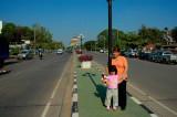 Central Avenue, Vientiane Laos 2006