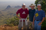 Jeff, Dad, and Aaron - Big Bend Trip