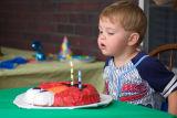 Thomas 2nd Birthday Party