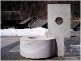 Brunnen von Mario Botta...