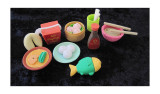 Erasers - Chinese food collection