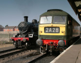 60s gala at Great Central Railway March 09