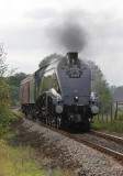 Black 5 on the Waverley and A4 at Mirfield