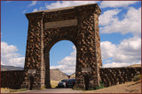 1- Roosevelt Arch - Yellowstone Park