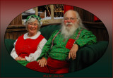 Mr and Mrs Santa Clause  /   For the children  / Taken at the North Pole