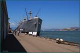 Fishermans Wharf / Liberty Ship Born in World War  II    1941-1945