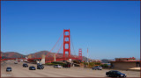 Golden  Gate Bridge Highway composition.