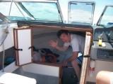Grant below deck