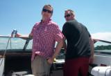 Mike & I on Lake Ontario