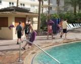 Guys at the Hard Rock Hotel Pool