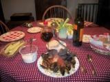 Dinner at Grandma and Grandpa's