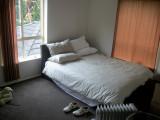 A basic bedroom