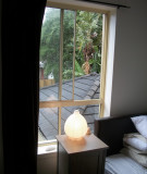 Bedroom lamp and nightstand