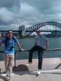Mike and I in Sydney