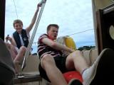 Sjúrður & Niklas sailing.