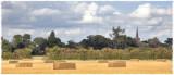 Hayfield panorama