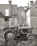 2442-tractor in the garden
