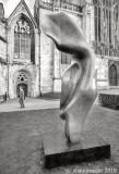 Gloucester Cathedral Sculptures, winter 2010