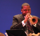 Wynton Marsalis with the Lincoln Center Orchestra, Laxson Auditorium, Chico, CA, Sept. 18, 2009