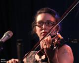 Vikki Grossman (w/violin-playing octopus tattoo)