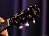 Josh Cunningham's guitar