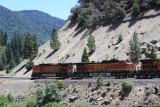 Union Pacific Railroad along Hwy 70-Burlington Northern Santa Fe