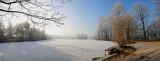 Pano Lyon Parc de la Tête d'Or en hiver / In winter